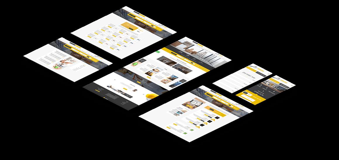 עיצוב ובניית אינדקס העסקים HomExpert.co.il