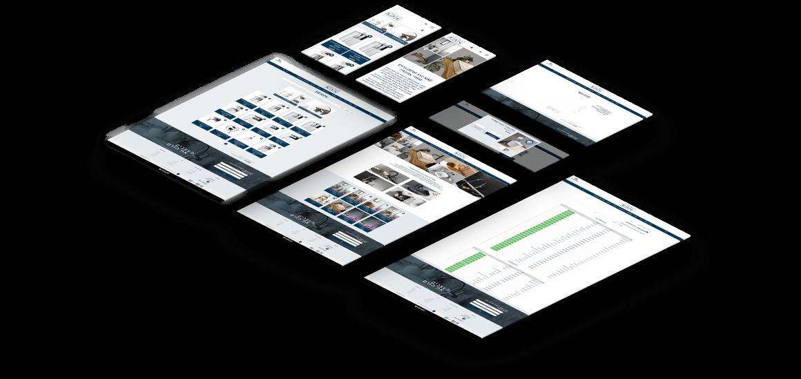 עיצוב ובניית אתר מכירות לחברת Kag