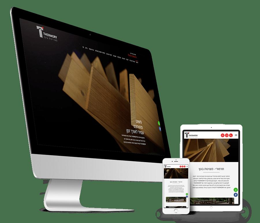 עיצוב ובניית אתר אינטרנט לחברת תרמורי ישראל